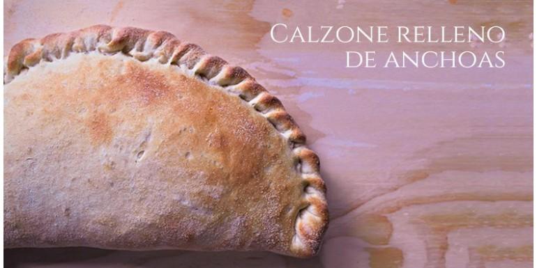 Calzone con anchoas de Cantabria